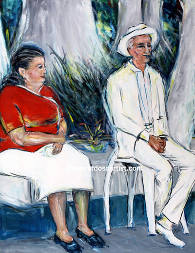 Cuban Series Los Abuelitos The Grandparents.jpg